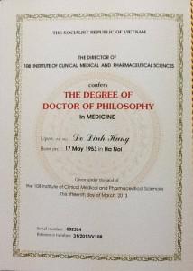 chung chi bac si dr hung