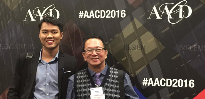 American Academy of Cosmetic Dentistry (AACD) meeting, Toronto 2016