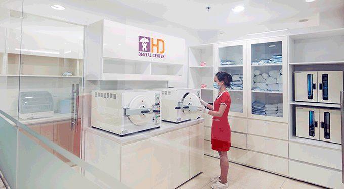 Quy trình vô trùng tại nha khoa Dr Hùng