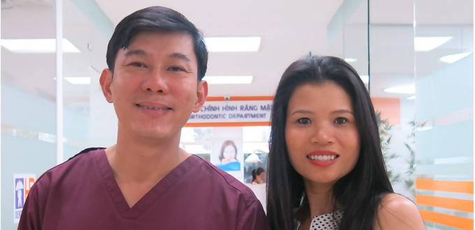 Cảm ơn các bác sĩ đã cho tôi một nụ cười thật tư tin