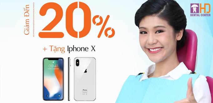 LÀM RĂNG TRÚNG NGAY IPHONE X – TOUR DU LỊCH 5 SAO