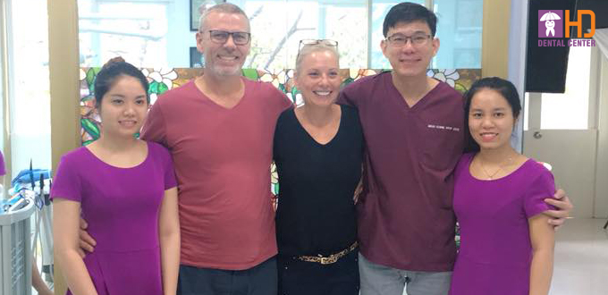 """""""Visiting Dr Hung and his lovely caring team was a wonderful pain free experience """""""