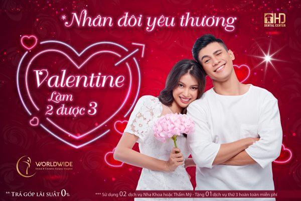 Rạng rỡ Valentine cùng nha khoa Dr Hùng