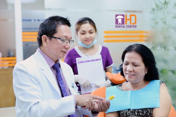 Cấy ghép implant ở Nha Khoa Dr Hùng & Cộng sự